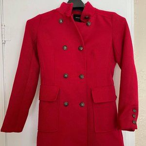 Forever 21 Coat Red Size S
